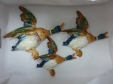 Beswick Mallard Duck Wall Plaques (596 - Set of 3)