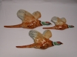 Beswick Pheasant Wall Plaques (661 - Set of 3)