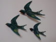 Beswick Swallow Wall Plaques (757 - Set of 3)