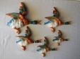 Beswick Mallard Duck Wall Plaques (596 - Set of 5)
