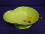 Carlton Ware Green Water Lily Pedestal Bowl