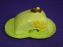 Carlton Ware Green Water Lily Covered Cheesekeep