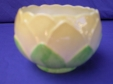 Carlton Ware Green Water Lily Sugar Bowl