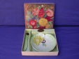 Carlton Ware Green Water Lily Pin Dish & Knife (In Box)