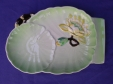 Carlton Ware Green Water Lily Cheese Plate