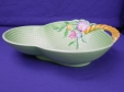 Carlton Ware Green Flowers & Basket Bowl (1922/2)