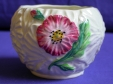 Carlton Ware Green Poppy Sugar Bowl