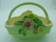 Carlton Ware Green Oblong Basket
