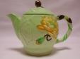 Carlton Ware Green Water Lily Teapot