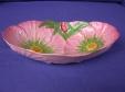 Carlton Ware Pink Buttercup Oval Bowl (Small)