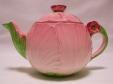 Carlton Ware Pink Buttercup Teapot
