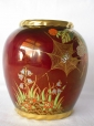 Carlton Ware Rouge Royale Spiders Web Vase
