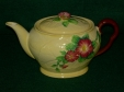Carlton Ware Yellow Wild Rose Teapot
