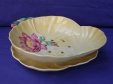 Carlton Ware Yellow Water Lily Salad Drainer & Underplate
