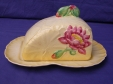 Carlton Ware Yellow Water Lily Covered Cheesekeep