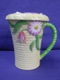 Carlton Ware Yellow Flowers & Basket Chocolate Mug & Lid