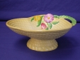 Carlton Ware Yellow Flowers & Basket Bon Bon Dish