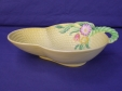 Carlton Ware Yellow Flowers & Basket Bowl (1922/4)