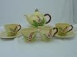 Carlton Ware Yellow Foxglove Tea Set