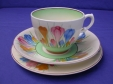 Clarice Cliff Spring Crocus Cup/Saucer/Plate