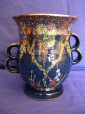 Crown Devon Floral & Butterflies Lustre Vase