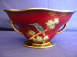 Crown Devon Kingfisher Lustre Bowl