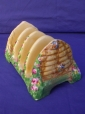 Royal Winton Bee Hive Toast Rack (5 Bar)