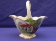 Royal Winton Cream Red Roof/Ducks On The Pond Basket