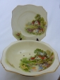 Royal Winton Cream Red Roof Salad Drainer & Underplate