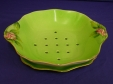 Royal Winton Green Rosebud Cress Dish & Tray