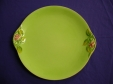 Royal Winton Green Rosebud Plate