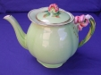 Royal Winton Green Tiger Lily Teapot