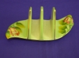 Royal Winton Green Rosebud Toast Rack (3 Bar)