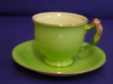 Royal Winton Green Rosebud Cup & Saucer