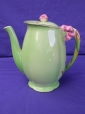 Royal Winton Green Tiger Lily Coffee Pot