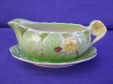 Royal Winton Green/Yellow Primula Gravy Boat & Underplate