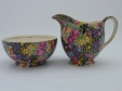 Royal Winton Hazel Chintz Creamer & Sugar Bowl