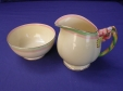 Royal Winton Honey Lily Creamer & Sugar Bowl