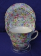 Royal Winton Marion Chintz Cup, Saucer & Plate
