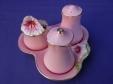Royal Winton Pink Petunia Cruet Set