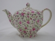 Royal Winton Rose Du Barry Chintz Teapot (6 Cup)