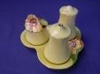 Royal Winton Yellow Petunia Cruet Set