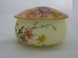 Royal Worcester Floral Trinket Pot