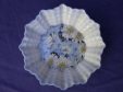 Shelley Blue Daisy Chintz Pin Dish