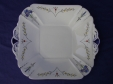 Shelley Blue Iris Cake Plate