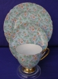 Shelley Marguerite Chintz Cup, Saucer & Plate