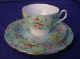 Shelley Melody Chintz Cup/Saucer/Plate (Tea)