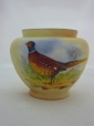 Worcester Locke & Co Pheasant Vase (J Ross)