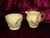 Carlton Ware Yellow Foxglove Creamer & Sugar Bowl