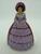Carlton Ware Lilac/Burgundy Crinoline Lady Napkin Ring